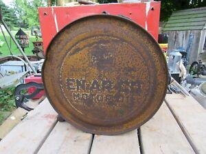 ANTIQUE / VINTAGE 1920's EN-AR-CO ROCKER MOTOR OIL CAN, METAL ROCKER CAN