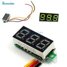 """0.28"""" Three-Wire Green LED DC 0-100V Voltage Digital Voltmeter Panel Meter"""