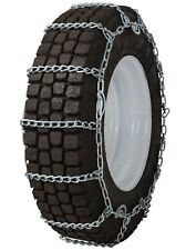315/75-24.5 315/75R24.5 Tire Chains 8mm Link Cam Snow Traction Commercial Truck