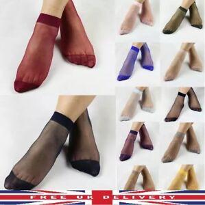 12 Pairs Ladies women Girls Sock Ankle High Ultra-Thin  Short Nylon Summer Socks