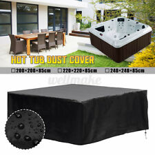 More details for 3 size hot tub spa cover cap guard outdoor waterproof dust protector case