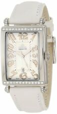 Gevril Women's 7249NT Avenue of Americas Mini 32mm Case White Diamond Watch