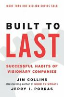 Built to Last : Successful Habits of Visionary Companies, Paperback by Collin...