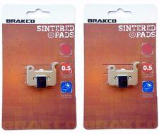 BRAKCO Disc Brake Pads Shimano XTR BR-M975 M966 M965 XT M775 SLX M665