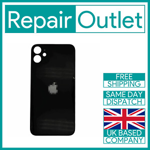 For Apple iPhone 11 Replacement Back Glass (Black) UK Stock Quality Part Genuine