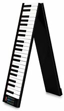 B-WARE Akku Keyboard Digital 88 Tasten Piano USB MIDI klappbar Tasche Pedal