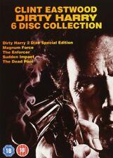 Dirty Harry Collection [6x DVD] NEU DEUTSCH [Region Free] 1+2+3+4+5 Eastwood