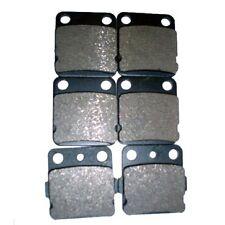 New listing F+R Brake Pads For Yamaha Blaster 200 Yfs200 2003 2004 2005 2006 Semi-metallic