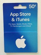 Gutschein über 50 Euro  für App Store & iTunes DE, Apple, Voucher, Gutschein