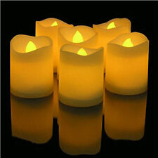 24Pcs Flameless Votive Candles Battery Operated Flickering LED Tea Light Decor