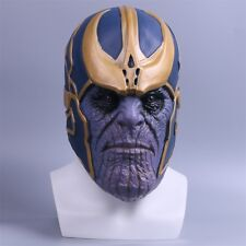 The Avengers Infinity War Mask Cosplay Thanos Mask Latex Helmet Cosplay Prop New