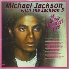 MICHAEL JACKSON WITH THE JACKSON 5  '14 OF THEIR GREATEST HITS' CANADIAN LP