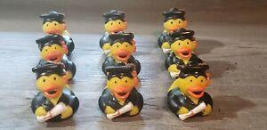 9 RUBBER DUCKS DUCKY Duckies GRADUATION FAST SHIPPING