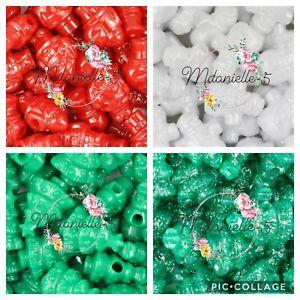 Christmas Pony Beads Santa,Tree,Snowman 6x  Craft Crafts