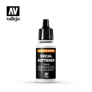 Vallejo Auxiliary 212 - Decal Softener (73.212) 17ml