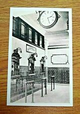 LONDON TRANSPORT POSTCARD ~ RUSSELL SQUARE STATION BOOKING HALL ,PHOTOGRAPH,1906