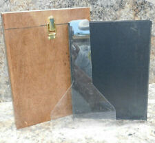 Wet Plate Collodion 8x10 Tank w/ Insert and Dipper Wood Brass