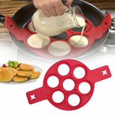 IS-UK Seller Non Stick Pancake Pan Flip Breakfast Maker Egg Omelette Flip Tool