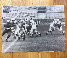 RARE VINTAGE EARLY SPORT Collegiate or High School Football Photo