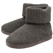 Dunlop Mens Brent Designer Super Soft Luxury Memory Foam Ankle Boots Slippers