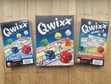 TOP-Set - Qwixx + 2 Zusatzblöcke + Qwixx GemiXXt (2 Blöcke)