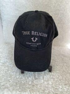 Authentic True Religion Baseball Cap Hat TR2492 BLACK