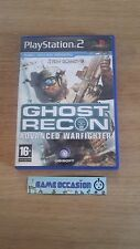 GHOST RECON ADVANCED WARFIGHTER TOM CLANCY'S PS2 SONY PLAYSTATION 2 PAL COMPLETO
