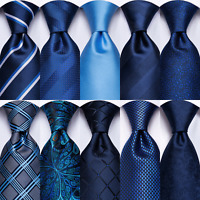 HT 300 Color Silk Tie Mens Necktie Geometric Striped Solid Floral Hanky Cufflink