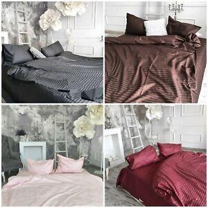 King Queen Bedding Set 4 pcs Bedsheet Duvet Cover 2 pillowcases 100% Cotton