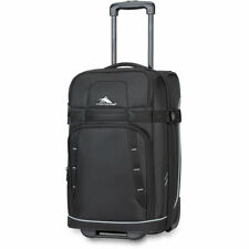 """High Sierra Evanston Carry On Upright Luggage Suitcase Black 22"""" 89681-3049"""