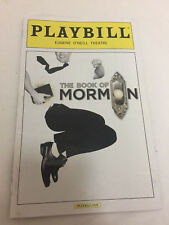 The Book of Mormon Playbill 2016 Nic Rouleau O'neil Nikki Renee Daniels