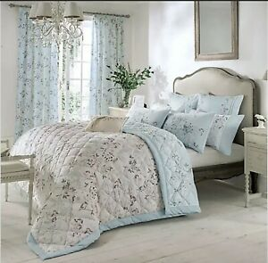 50% OFF Dorma Maiya Reversible Quilted Bedspread - 265cm x 265cm- RRP £160