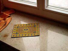 """miniatur Teppich gestickt """"China seide"""" groß"""