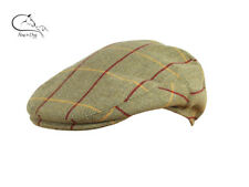Jack Pyke Wool Blend Flat Cap Tweed Shooting Hats FREE DELIVERY