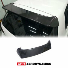 For VOLKSWAGEN Golf MK6 GTI OR Style Carbon Glossy Rear Wing Roof Spoiler kit