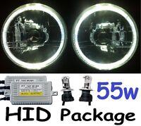 """WHITE 7"""" Lights 55w HID Kit Holden HQ HJ HX HZ HK HT HG Kingswood Premier Monaro"""