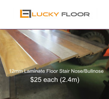 12mm Laminate Floor Stair Nose Stairnose Bullnose Bullnosing Flooring Boards
