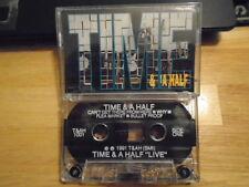 VERY RARE Time & A Half DEMO CASSETTE TAPE rock UNRELEASED 1991 8 trax unknown !