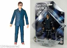 "Doctor Who 10th Dr Blue Suit Glasses 5"" Figure David Tennant Tenth New MOC Mint"