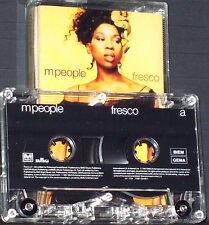 M People Fresco CASSETTE ALBUM Electronic Acid Jazz Drum n Bass Pop BMG 1997