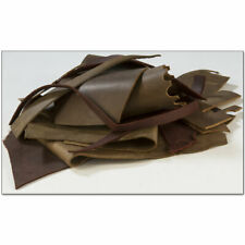Oil-Tanned Leather Remnant Pack - 12oz