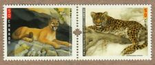 COUGAR PUMA LEOPARD WILD CAT = JOINT ISSUE w/CHINA Canada 2005 #2123a MNH