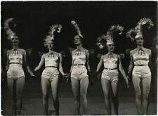 Legendary Radio City Music Hall Rockettes 1936 Original Large Format Photograph