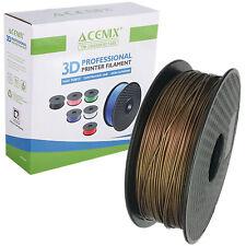 Acenix ® cobre PLA filamento de impresora 3D 1.75mm 1KG filamento de carrete para impresión 3D