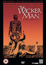 The Wicker Man [DVD], Very Good DVD, Edward Woodward, Christopher Lee, Britt Ekl