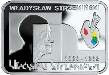 Poland 20 Zlotych, 28.28 g Silver Proof Coin, 2009,Painter,Wladyslaw Strzeminski