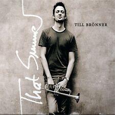 """Till Brönner """"that summer"""" CD ARTICLE NEUF!!!"""