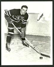 Doug Bentley Chicago Blackhawks 1960s Vintage Hockey Press Photo