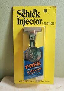 Vintage 1974 Schick Injector Adjustable Razor