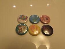 RARE !!   Authentic Paul Frank Skurvy Pin badge Pinback  /  6 IN ALL